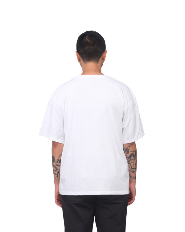 Enemy Earth Logo T-Shirt - white