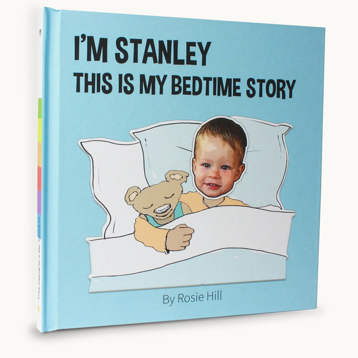 child bedtime story book