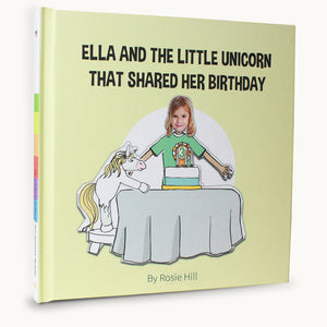 child birthday unicorn book