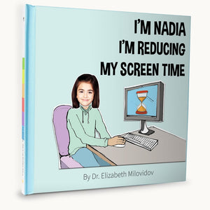 child reducing screen time book