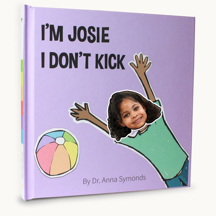 stop toddlers kicking book