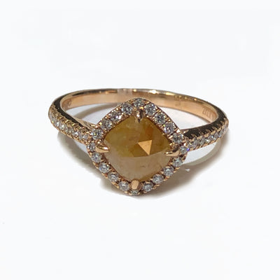 Kattan Diamond Shape Halo