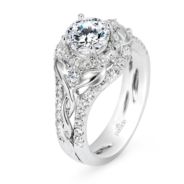 "Lyria Bridal ""A New Leaf"" Diamond Ring"