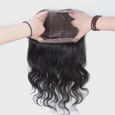 360 Lace Front Wigs Body Wave 100% Human Virgin Hair