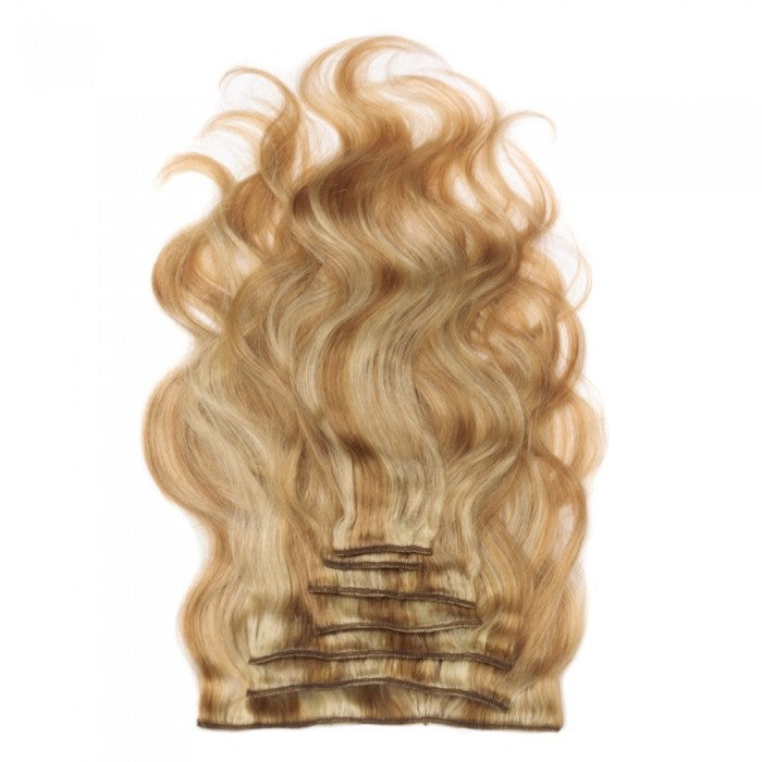Body Wavy Mixed Blonde Clip In