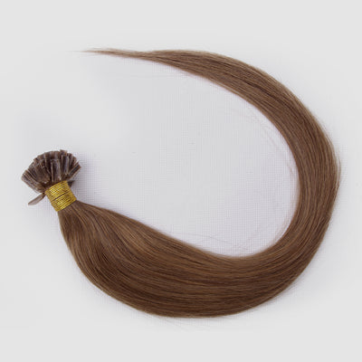 Straight Lightest Brown Pre-Bonded Extensions