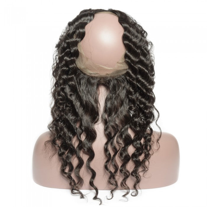 Loose Wavy 360 Lace Frontal