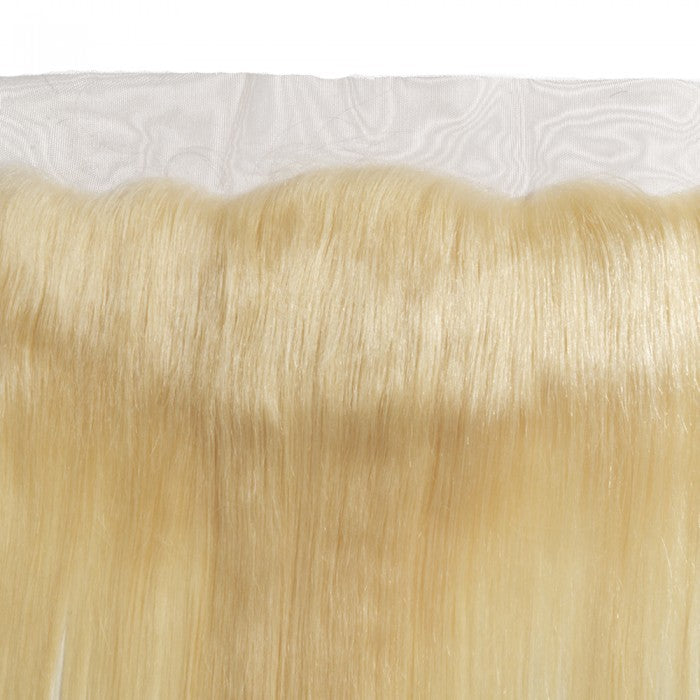 Straight Lace Frontal Blonde