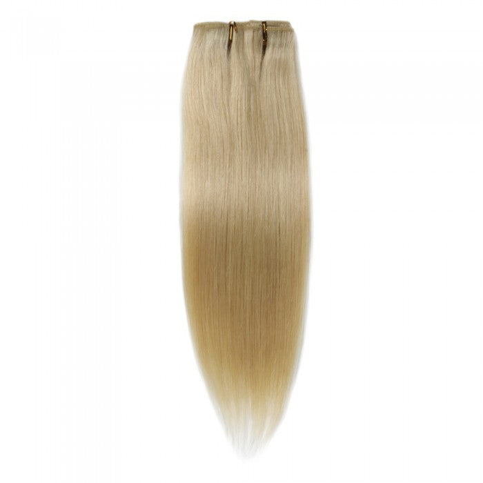 Straight Lightest Blonde Clip In