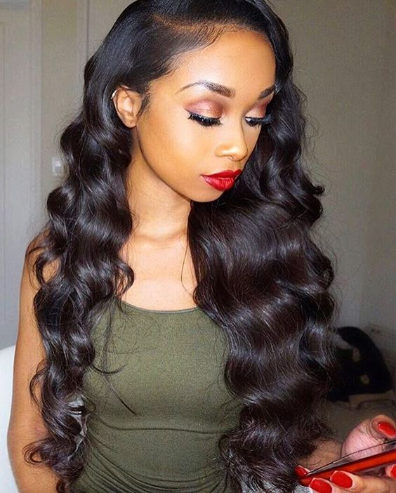 "12""/14""/16"" 3 Bundles Body Wavy Virgin Hair 300g With 10"" 4*4 Body Wavy Free Part Closure"