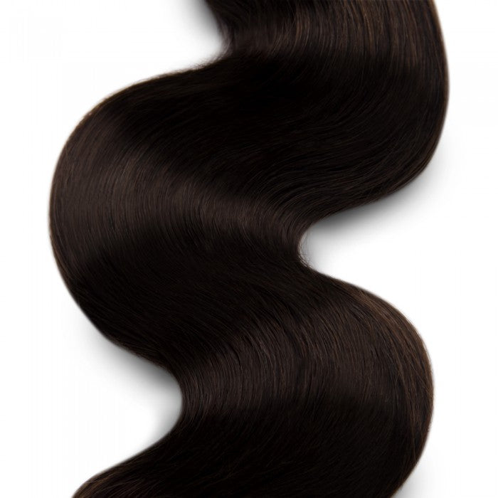 Body Wavy Darkest Brown Remy Colored Weave