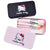 Hello Kitty pink black 7Pc/set Mini Makeup brush Set cosmetics kit