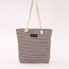 Mara's Dream Fashion Canvas Unisex Stripe Zipper Handbag