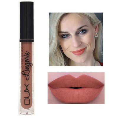 Matte Lipstick Brown Nude Chocolate Color Liquid Lip Gloss