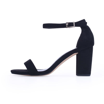 Ankle Strap Heels Women Sandals Summer Shoes Women Open Toe Chunky High Heels Party Dress Sandals Big Size 42