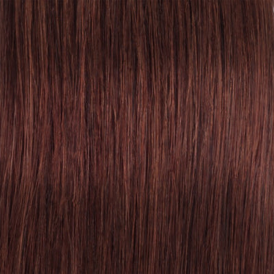 Straight Rich Copper Red Remy Weave