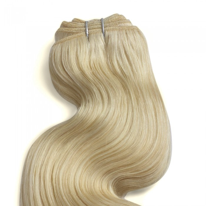 Body Wavy Sandy Blonde Remy Hair Weave