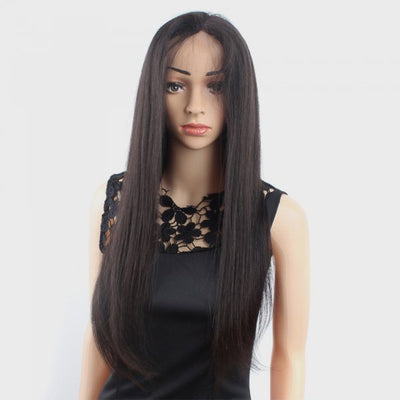 Full Lace Wigs Straight 100% Human Virgin Hair