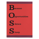 Journal - Hardcover: Boss 2