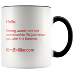 Accent Mug: Strong Women Words