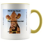 Accent Mug: Beef Cow