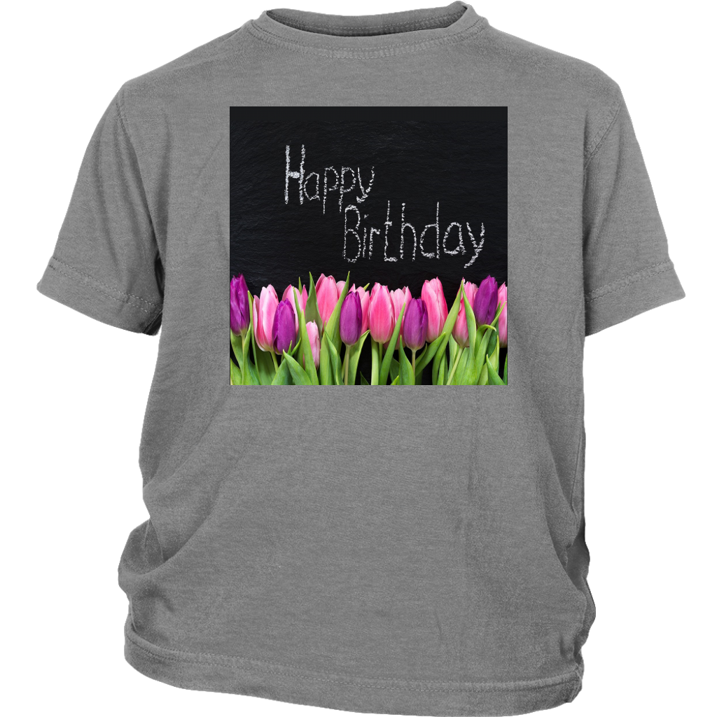 District Youth Shirt: Birthday