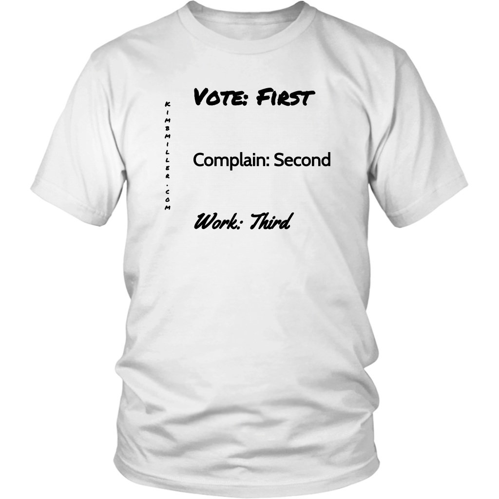 District Unisex Shirt: Vote