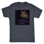 Next Level Men's Triblend: Fly: Owl
