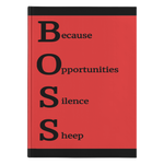 Journal - Hardcover: Boss 1