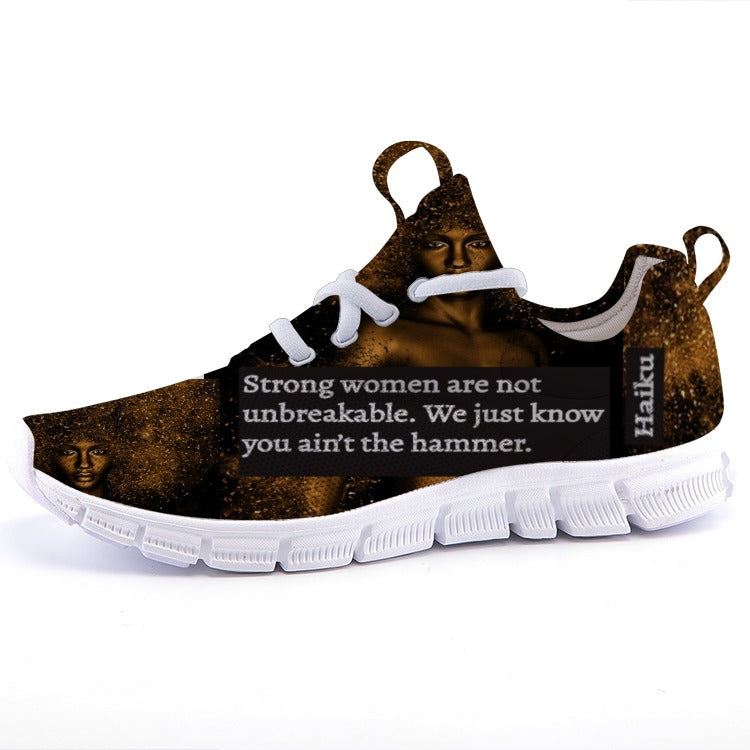 Lightweight fashion Haiku sneakers: Strong Women Stand