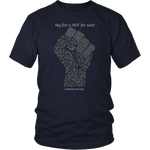 District Unisex Shirt: Fist-