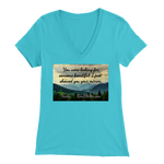 Bella Women's V-Neck: Beautiful One