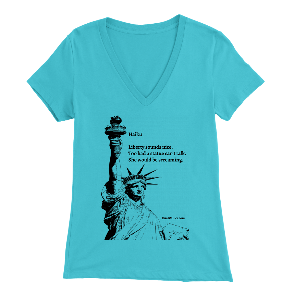 Bella Women's V-Neck-Statue