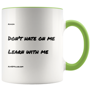 Accent Mug: Learn With