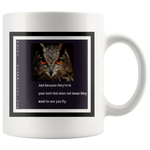 Mug: Haiku:Fly Owl