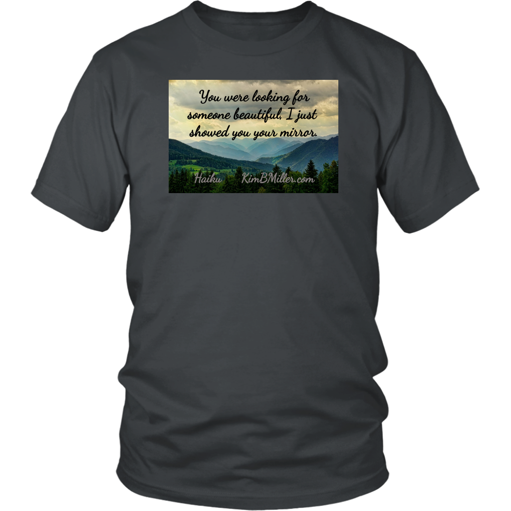 District Unisex Shirt: Beautiful One