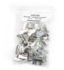 Platinum Tools 100020 EZ-RJ45 Shielded CAT5E/6 (Internal Ground) 50/Bag