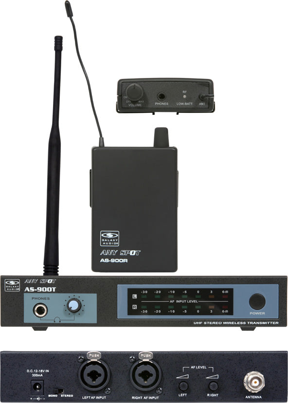 Galaxy Audio AS-900-4 In-Ear Wireless Monitor System AS-900-4