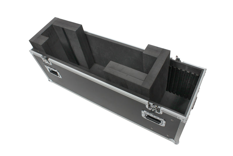 "LED, LCD or Plasma TV Case Adjustable to 48"" Trade Show Road Tour by OSP"