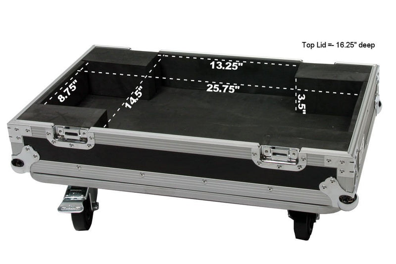 OSP ATA Lift-Off Road Tour Flight Case for a 210 Guitar Amp - See Dimensions