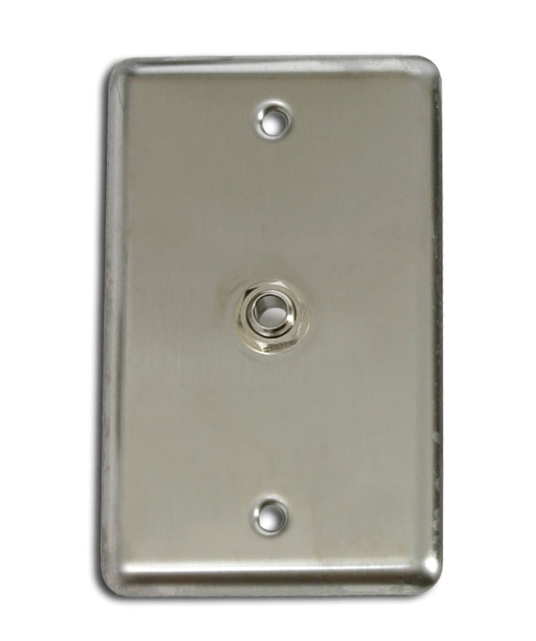 "OSP D-1-1/4S Single Gang Wall Plate with 1 1/4"" TRS"