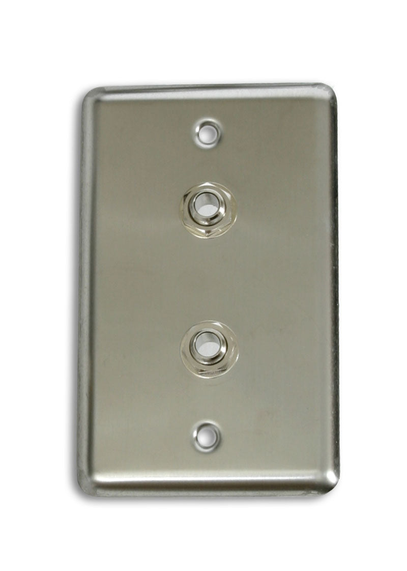 "OSP D-2-1/4S Single Gang Duplex Wall Plate with 2 1/4"" TRS"