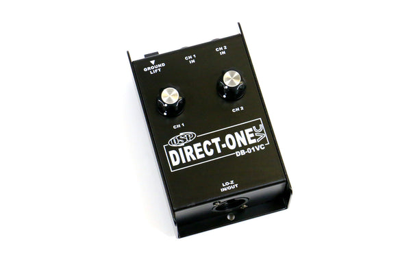 OSP DB-01VC Two Input Direct Box w/Volume Control