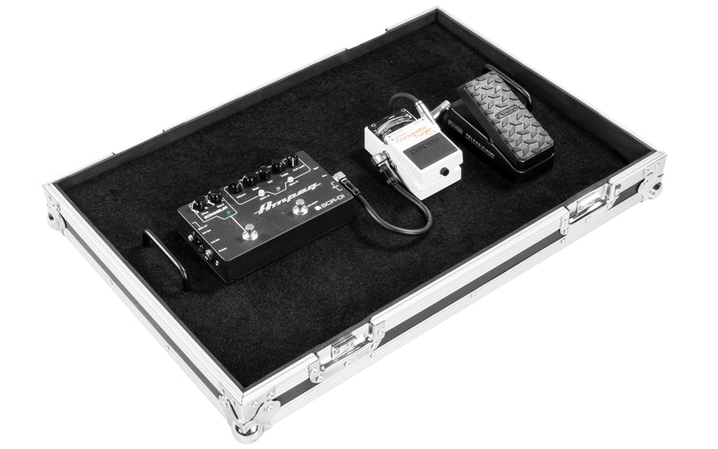 "OSP 24"" Guitar Effects Pro Pedal Board Road Tour ATA Flight Case for Efx Pedals FX1624"
