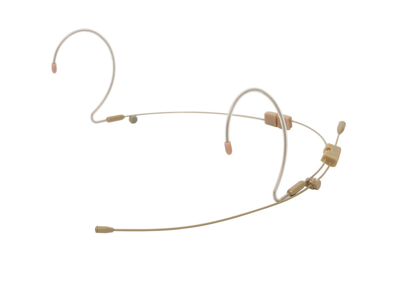 OSP HS-12 Dual Ear EarSet Headworn Microphone with two cables