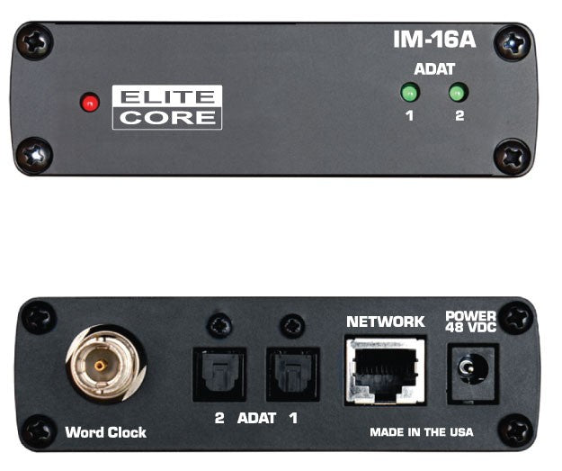 Elite Core PM-16-CORE-8-DIGITAL Complete Personal Mixer 8 Pack With 8 PM-16, 1 IM-16A, 8 Power Supplies, and Cabling
