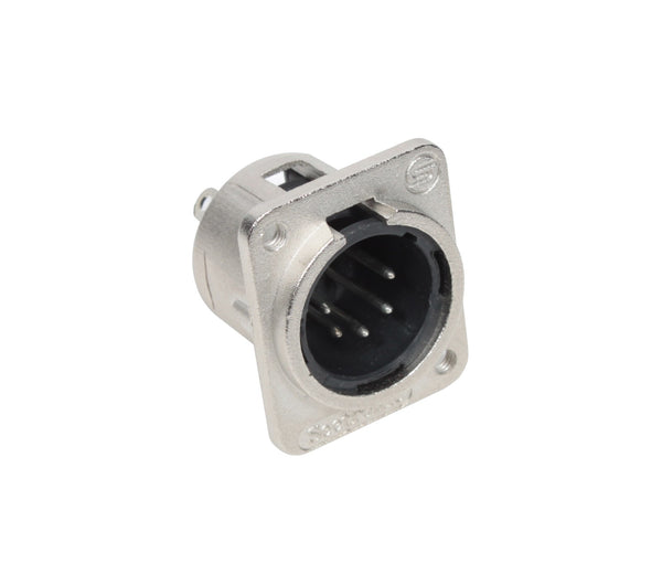 Seetronic J5F2C 5 Pin XLR Male Panel Mount Connector