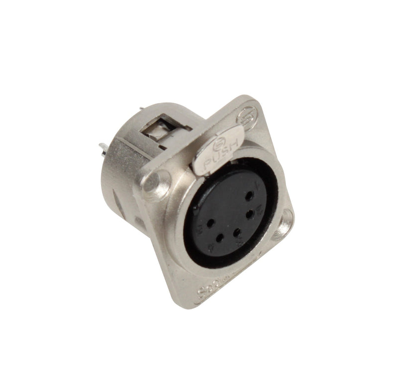 Seetronic K5F2C 5 Pin XLR Female Panel Mount Connector
