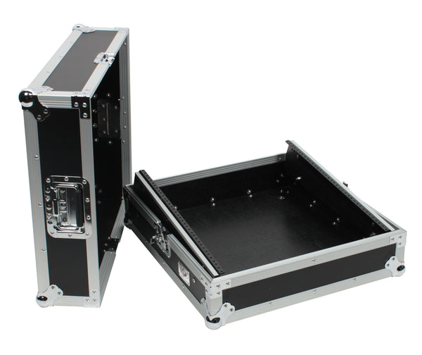 OSP MC12U-0 Slant Rack Mount Mixer Portable PA Karaoke Road Tour Flight Case 12uTop MC12U-0