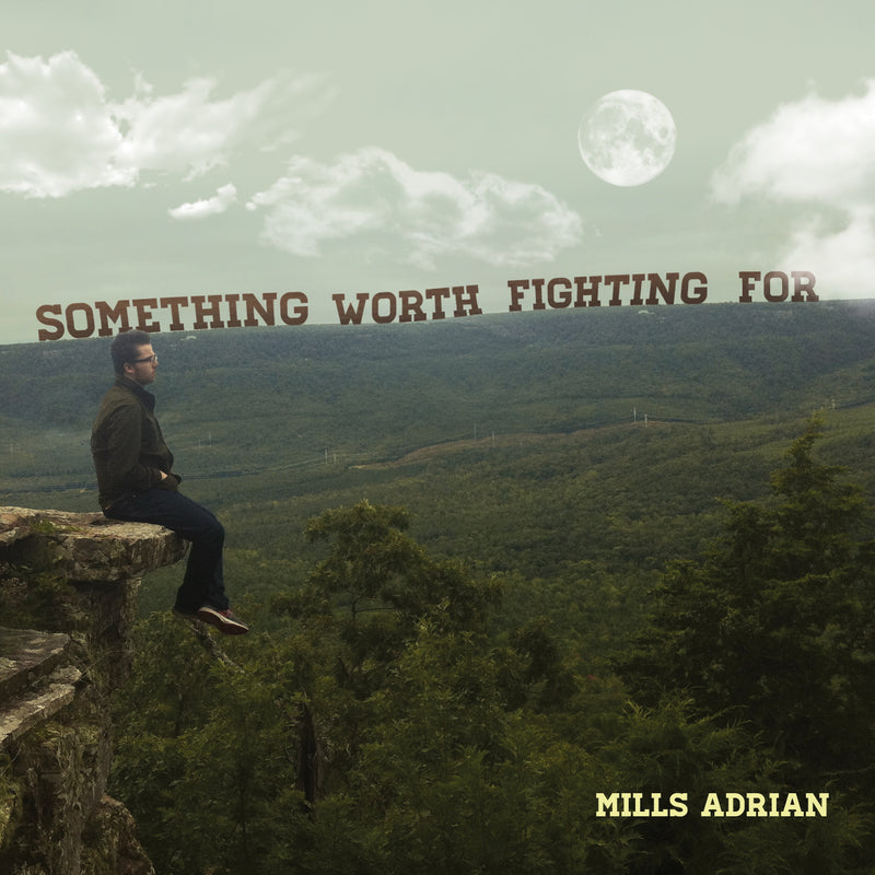 Something Worth Fighting For by Mills Adrian - Audio CD
